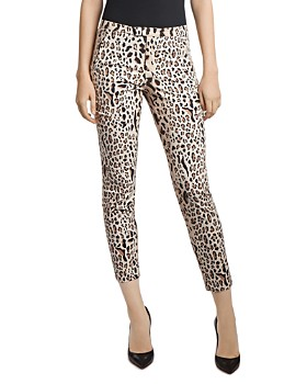 ATM Anthony Thomas Melillo - Leopard Print High-Waist Slim Pants