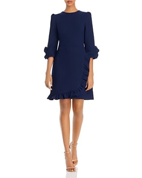 Shoshanna - Marina Textured Crêpe Dress
