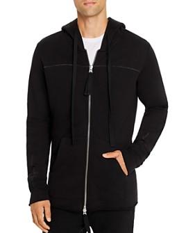 thom/krom - Basic Zip-Front Hoodie