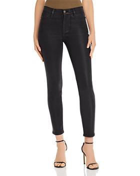 FRAME - Le High Skinny Coated Jeans