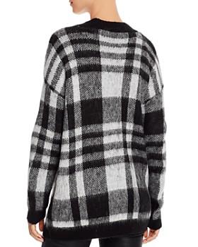 AQUA - Plaid Open Cardigan Sweater - 100% Exclusive