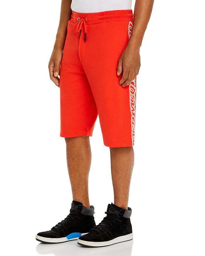 McQ Alexander McQueen - Logo-Striped Shorts