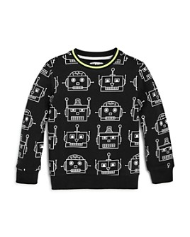 Mini Series - Boys' Clank Robot Print Sweatshirt, Little Kid - 100% Exclusive