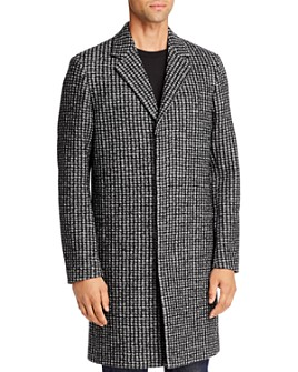 Theory - Suffolk Bouclé Jacquard Regular Fit Coat - 100% Exclusive
