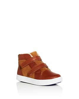 UGG® - Boys' Rennon II Leather Velcro Booties - Walker, Toddler