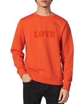 Sandro - Love Crewneck Sweatshirt