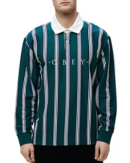 OBEY - Firm Striped Classic Fit Polo Shirt