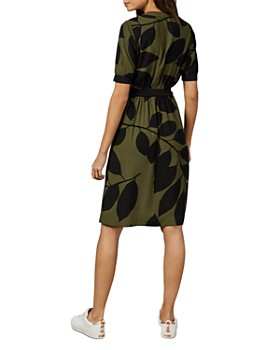 Ted Baker - Telavee Maple Leaf Zip Dress