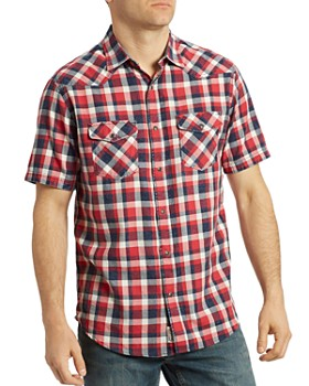 Flag & Anthem - Dawson Short-Sleeve Plaid Western Regular Fit Shirt
