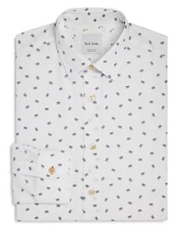 Paul Smith - Soho Cassette Print Slim Fit Dress Shirt