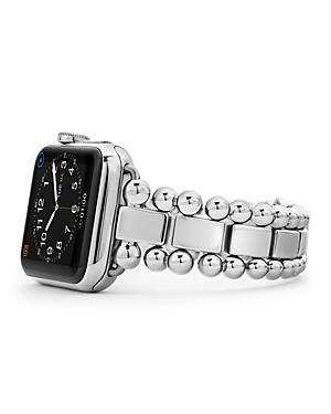 Lagos Smart Caviar Stainless Steel Apple Watch Bracelet, 38-44mm