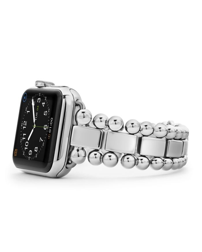 LAGOS Stainless Steel Smart Caviar Apple™ Watch Band, 38mm    Bloomingdale's