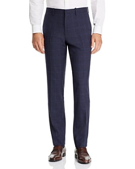 Theory - Mayer Tonal Plaid Slim Fit Suit Pants