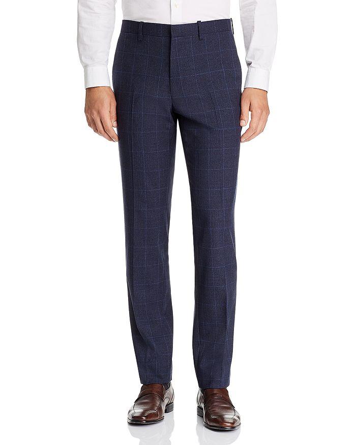Theory - Mayer Tonal Plaid Slim Fit Suit Pants