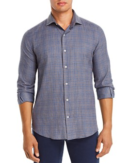 Dylan Gray - Plaid Classic Fit Flannel Shirt - 100% Exclusive