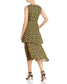 Sam Edelman - Poppy-Print Tiered Midi Dress