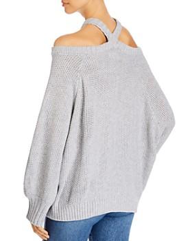Elan - Cold-Shoulder Sweater
