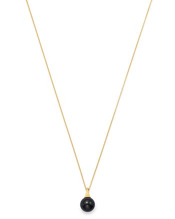Marco Bicego - 18K Yellow Gold Africa Onyx Pendant Necklace, 16.75""