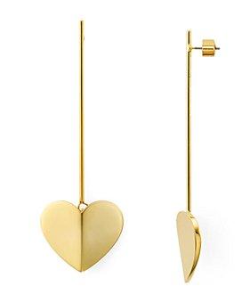 kate spade new york - Heart Linear Earrings
