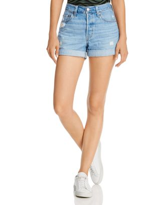 501 Distressed Jean Shorts In Montgomery by Levi's
