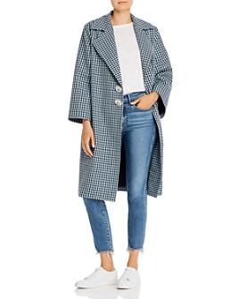 Paper London - Check Me Out Plaid Coat