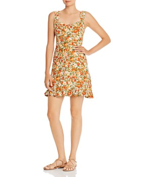 Faithfull the Brand - Lou Lou Floral Mini Dress