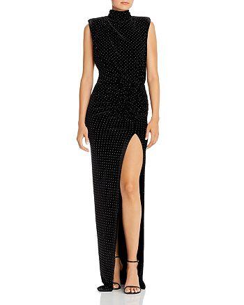 Ronny Kobo - Mariana Studded Velvet Gown