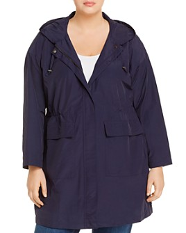 Eileen Fisher Plus - Cinched-Waist Anorak