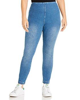 Lyssé Plus - Toothpick Legging Jeans in Mid Wash - 100% Exclusive