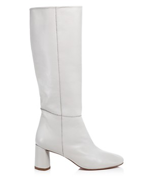 LoQ - Women's Donna Tall Leather Block Heel Boots