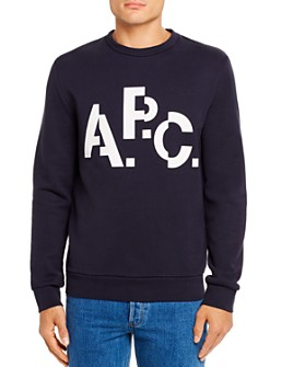 A.P.C. - Decale Heavyweight Logo Graphic Sweatshirt