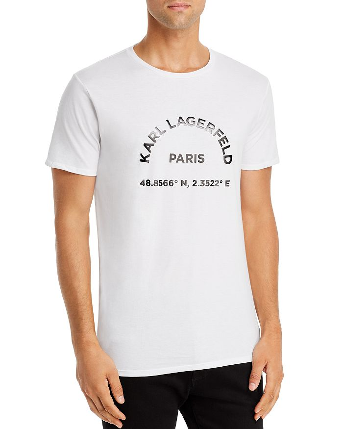 KARL LAGERFELD PARIS - Location Graphic Tee