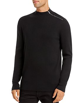 KARL LAGERFELD PARIS - Shoulder-Zip Sweater