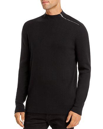 KARL LAGERFELD PARIS - Shoulder-Zip Sweater
