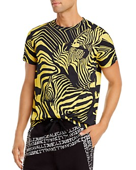Just Cavalli - Zebra Print Tee