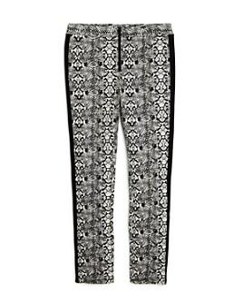bebe - Girls' Snakeskin Print Pants - Big Kid