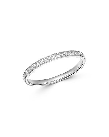 Bloomingdale's - Diamond Stacking Band in 14K White Gold, 0.15 ct. t.w. - 100% Exclusive