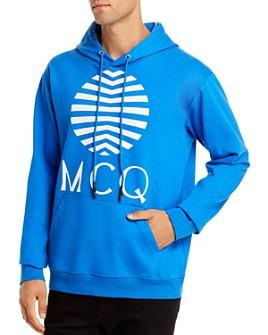 McQ Alexander McQueen - Logo Graphic Hooded Sweatshirt