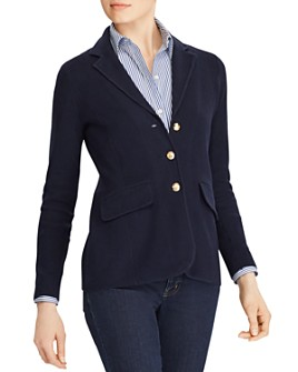Ralph Lauren - Sweater-Knit Blazer