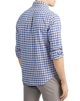 Lauren Shirts Button Ralph Bloomingdale's Down Men's Polo Casual byf67gY