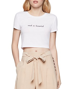 BCBGENERATION - Not A Tourist Cropped Tee