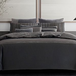 Vera Wang Shadow Stripe Duvet Cover, King