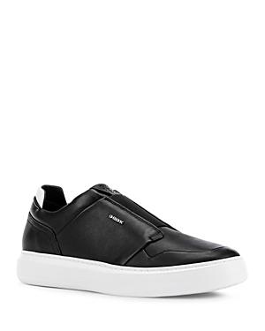 Geox Men\\\'s Deiven Leather Sneakers