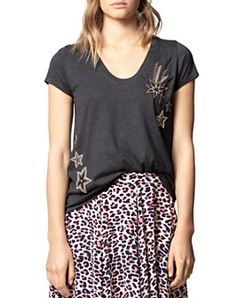 Zadig & Voltaire - Embroidered-Star Tee