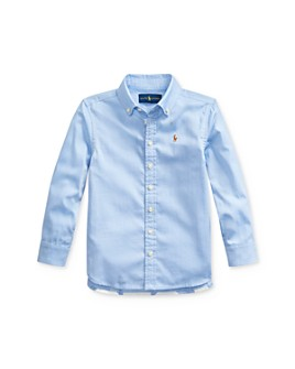 Ralph Lauren - Girls' Pinpoint Oxford Tunic - Little Kid