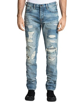 PRPS - Le Sabre Distressed Skinny Fit Jeans in Hals