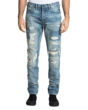 Prps Le Sabre Distressed Skinny Fit Jeans in Hals