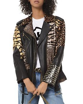 7d0945c3 Womens Faux Leather Jacket - Bloomingdale's