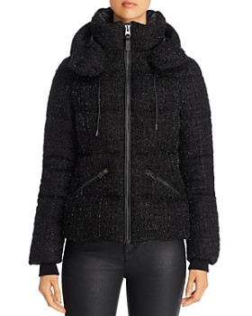 Mackage - Madalyn Tweed Short Down Coat - 100% Exclusive