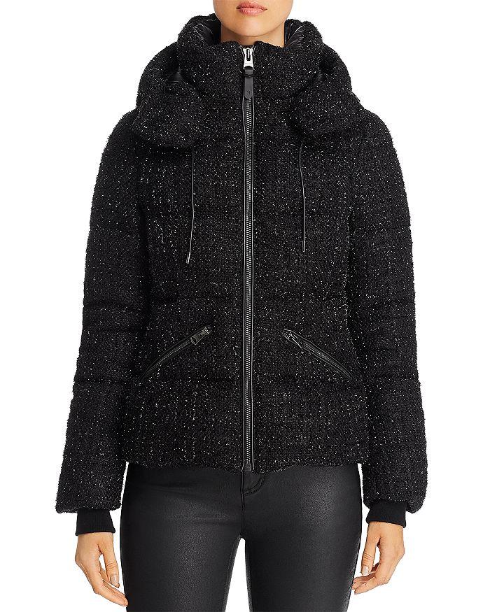 Mackage - Madalyn Tweed Short Down Coat - 100% Exclusive